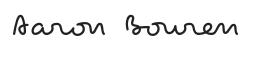 Aaron Bouren Signature (Old)