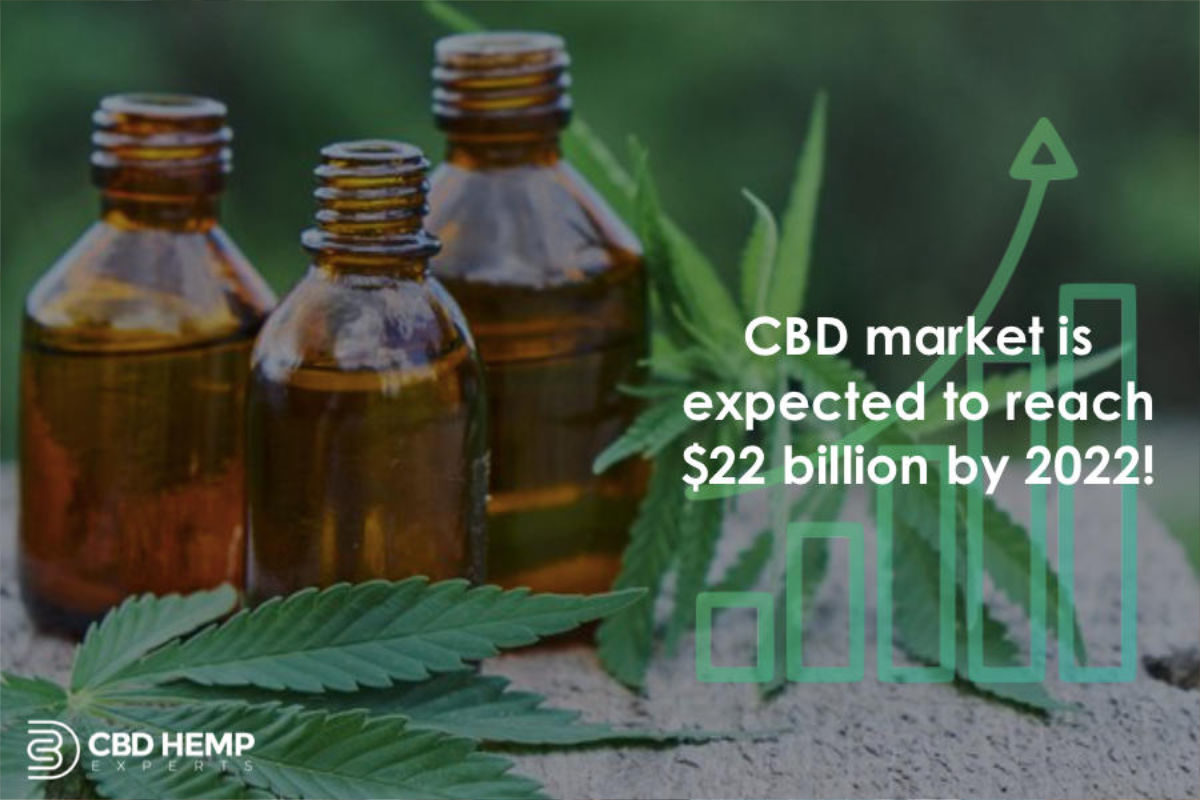 CBD Market to hit 22 Billion- Aaron Bouren